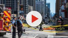 Atropello masivo de ciudadanos  en Toronto Canadá