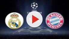 Los equipos Bayern vs Real Madrid en semifinales Champions League