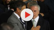 Temer se reúne com Aécio Neves e Gilmar Mendes