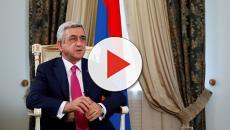 Armenia, si dimette il presidente Sergh Sargsyan