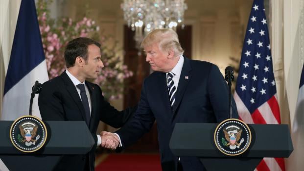 Trump et Macron : L'entente idyllique ?