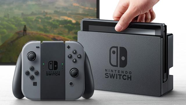 Aparecen características tëcnicas del Nintendo Switch