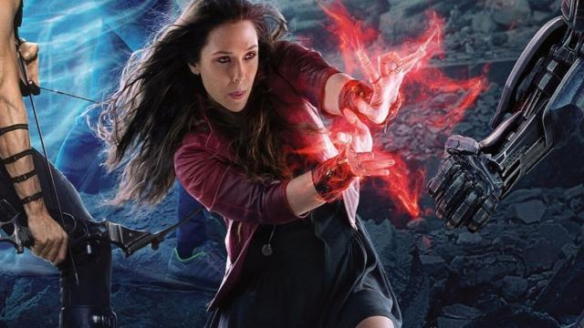 "Marvel Cinematic Universe - El Origen de Scarlet Witch ""Bruja Escarlata"""