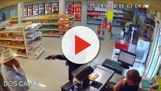 Un cliente inmoviliza un ladrón en Monterrey