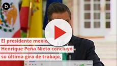 Los reyes de España reciben al presidente Peña Nieto