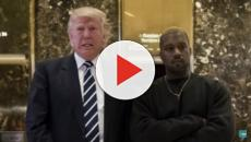 Fox News hosts laugh about report on Trump and Kanye West