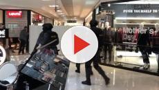 Vídeo: Marido transtornado mantém a esposa e o seu amante reféns em loja em SP