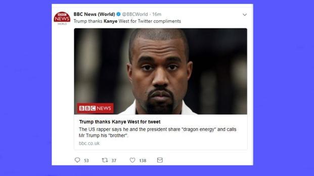 Kanye West's Donald Trump tweetstorm shocks fans