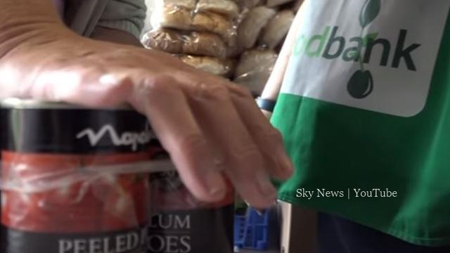Food parcel demand surges in the UK in the last year