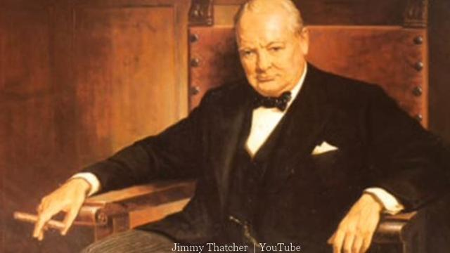 Winston Churchill remembered in April