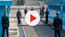 Kim Jong-un et Moon Jae-in à Panmunjeom