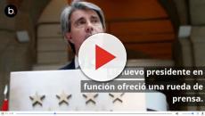 Ángel Garrido asume ofrecer una primera rueda de prensa
