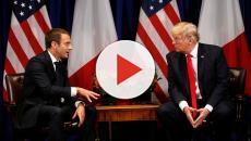 El presidente francés, Emmanuel Macron, cree que Donald Trump eliminará a Irán