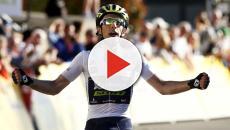 Giro de Italia: Simón Yates saboreando el papel del líder con Michelton-Scott