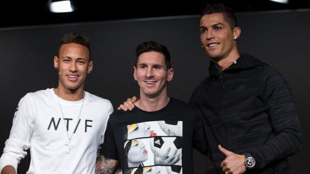 Neymar deve esperar para ser o melhor do mundo