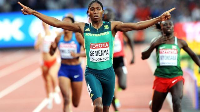 Caster Semenya: Se ve afectada por los cambios en las reglas de La IAAF