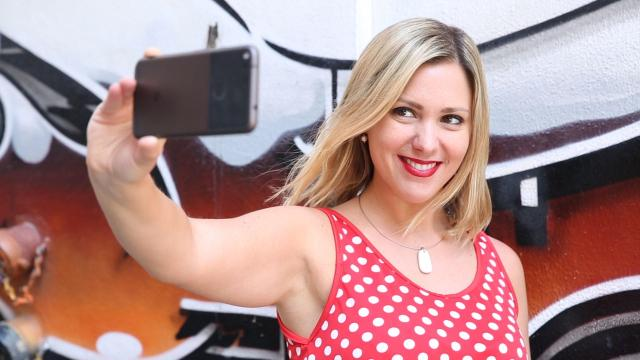 Tomar selfies airosos pronto será posible