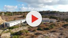 il centro di accoglienza a Lampedusa è in condizioni pietose