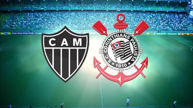 Atlético-MG x Corinthians: transmissão ao vivo na TV e internet