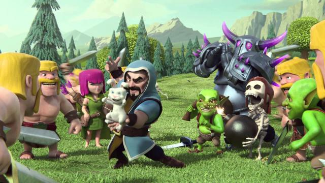 Clash of Clans no es compatible con iOS 7