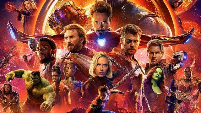 El número de personajes presentados en Avengers: Infinity War