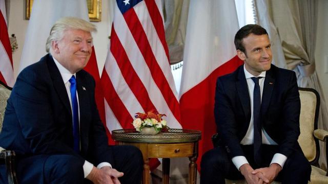 Visita estatal a los Estados Unidos: lo que obtuvo Macron de Trump