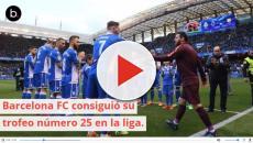 Vuelta olímpica de récord, este Barcelona FC no se cansa
