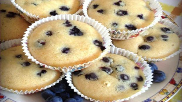 Muffin ai mirtilli: ricetta gustosissima