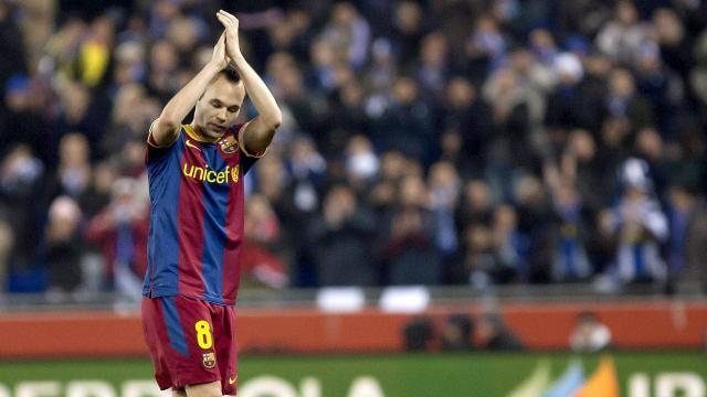 Andrés Iniesta Luján se despide de Barcelona