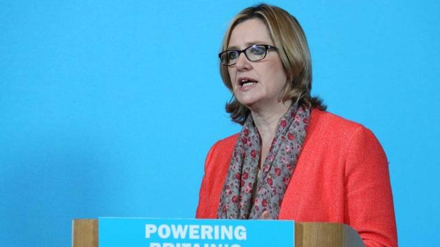 Amber Rudd and the Home Secretary's career in the UK Government