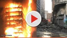 Ex-BBB registra Fotos do Incêndio em São Paulo em primeira mão