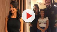 Vídeo: Gleice ex-BBB conhece a filha de Wagner e reação é inesperada