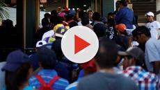 Caravan of migrants denied entry into USA