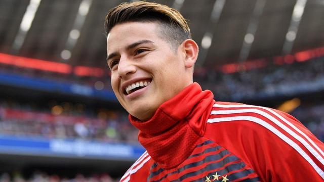 El Manchester United ha puesto sus miras en James Rodríguez
