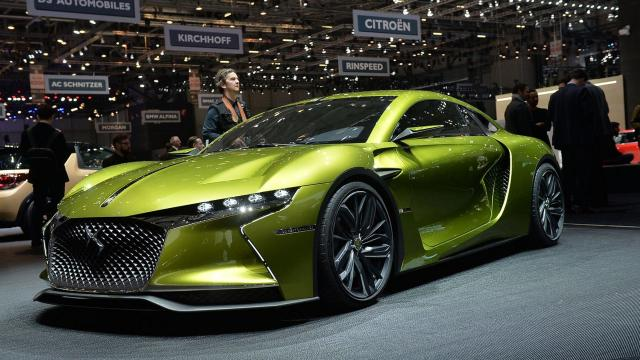 El nuevo concepto eléctrico futurista de los autos de carrera