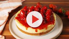 New York Style Cheesecake with Raspberry sauce recipe