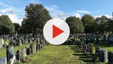 Após túmulo ser violado, corpo de mulher é violentado