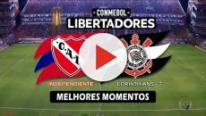 Corinthians x Independiente: transmissão da partida ao vivo na TV e online