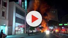 O descaso no prédio que caiu em São Paulo