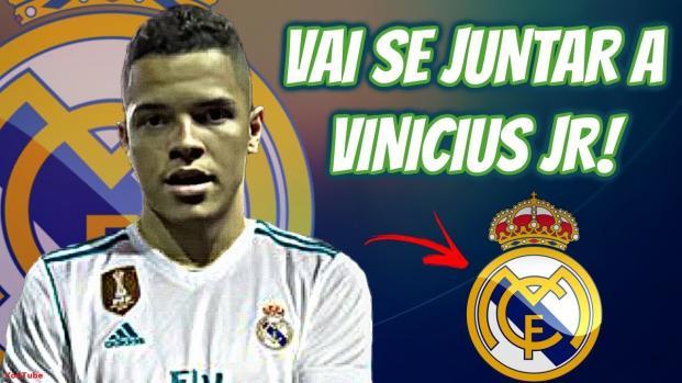 Artilheiro pelo Palmeiras assina com o Real Madrid