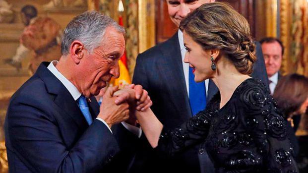 Letizia toca fondo tras un bochornoso gesto hacia el Presidente de Portugal