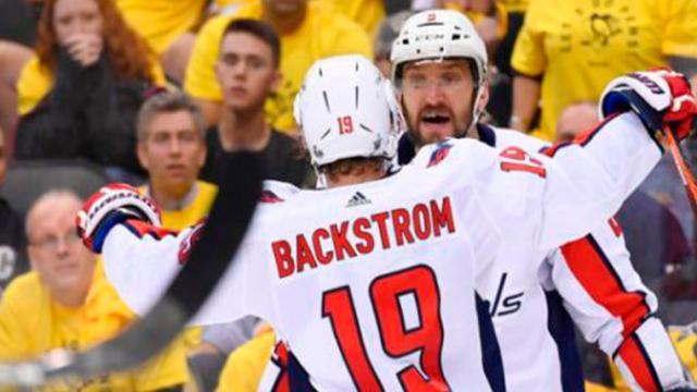 Ovechkin define juego 3 para dar ventaja a los Caps en la serie vs los Penguins