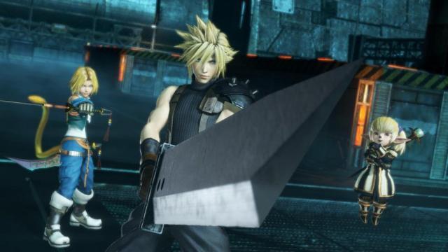 Vayne se une a la batalla en 'Dissidia Final Fantasy NT'
