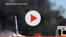 US military WC-130 cargo plane crashed on close to Savannah, killing nine
