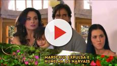 'Coração Indomável': Maria Alessandra chantageia o Governador