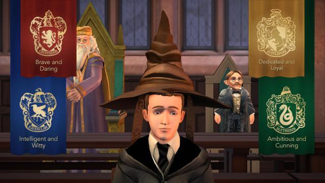 Hogwarts misterio: los personajes del juego