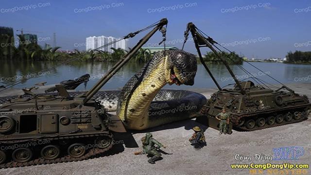 Titanoboa, a cobra pré histórica com 15 metros de comprimento