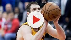 Cleveland Cavaliers' LeBron James and Kevin love bring home Game 2