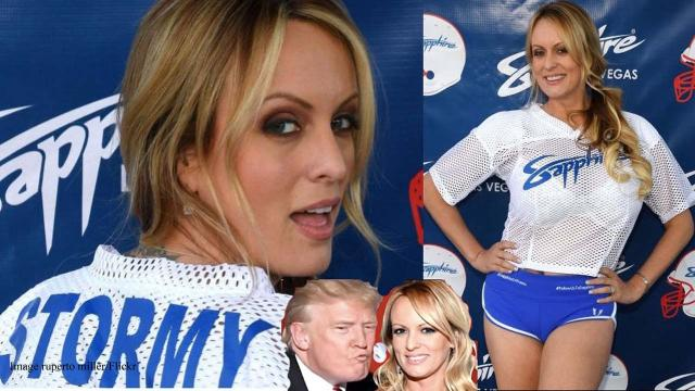 Donald Trump caught in a lie about the Stormy Daniels affair