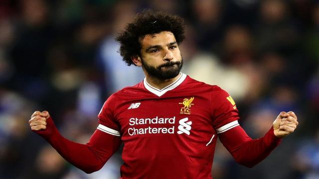 Mohamed Salah le dice a los fanáticos que no tiene rivalidad contra Cristiano
